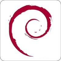 Tasten-Sticker - Debian