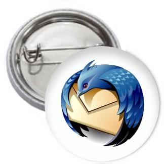 Ansteckbutton - Thunderbird