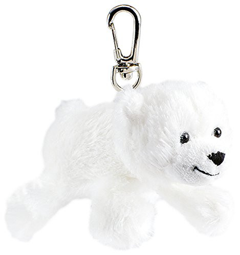 Schlüsselanhänger - Plüsch-Eisbär Knut Kuddel