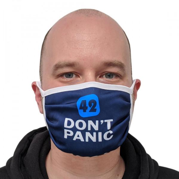 Alltagsmaske 42 Don't Panic