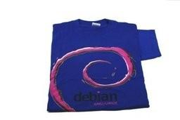 T-Shirt - Debian Fertig