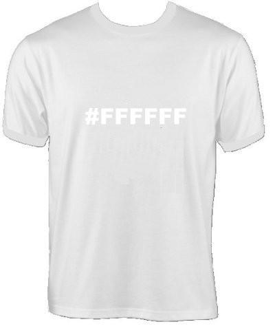 T-Shirt - #FFFFFF