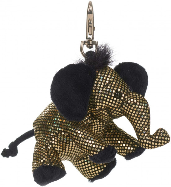 Schlüsselanhänger - Plüsch-Elefant Glitz & Glamour