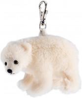 Schlüsselanhänger - Plüsch-Eisbär
