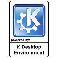 Notebook-Sticker - KDE Nr.1