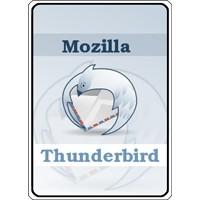 Notebook-Sticker - Mozilla