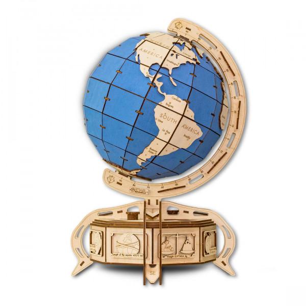 Eco-Wood-Art Holzbausatz Globus